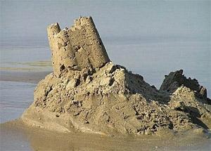Crumbling palace